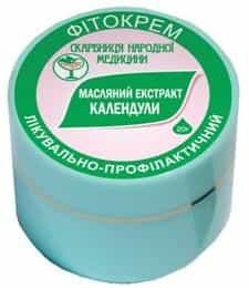 Масляный экстракт календулы фитокрем